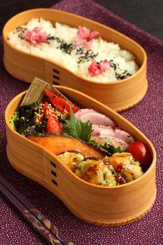 椎茸の肉詰め弁当 : Linmal's Kitchen ~金沢の旬の味と毎日のお弁当