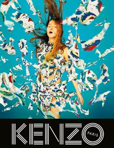 Kenzo - - Spring 2014 - Ad Campaign | TheImpression.com