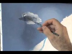 How to paint the Moon Glow with acrylics painting lesson class 2