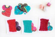 Valentine's Day Weavings 7