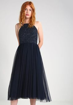 Lace & Beads Summer dress - navy for £38.99 (05/03/17) with free delivery at Zalando