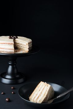 Chai vanilla layer cake is an alluring combination of a richly spiced cake made with Chai tea and a bold and creamy coffee buttercream frosting.