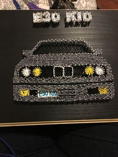 String Art E30 BMW