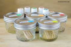 Flavored Toothpicks Recipe