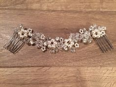 A personal favourite from my Etsy shop https://www.etsy.com/uk/listing/479740936/flower-bridal-hair-vine-pearl-crystal