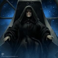 Emperor Palpatine-  The Sith Lord, the master of the Dark Side of the Force. Lord of the Galactic Empire.