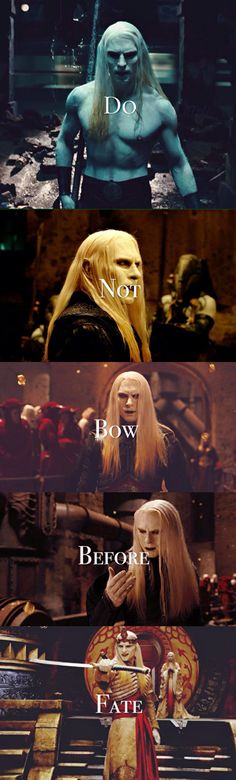 What prince Nuada taught us.