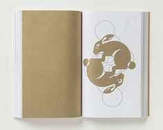"""Golden Meaning: graphic artists depict the golden ratio – in pictures   Alex Bellos. """"The golden ratio is connected to the Fibonacci numbers, which are those in the sequence 0,1,1,2,3,5,8,13... where each one is the sum of the previous two. Fibonacci numbers were first mentioned in a thirteenth century puzzle about rabbits. Nathalie Lees embraced the bunny theme, using circles that are in golden ratios with each other."""""""