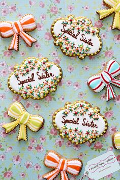 Copyright Dessert Menu, via Flickr.  What an amazing talent for cookies and cakes!