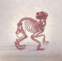 Skelethon, Artist = Aryz