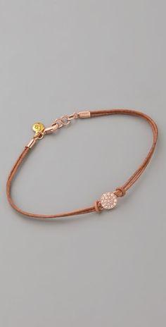 Pantheon Leather Bracelet