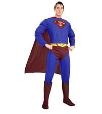 SUPERMAN DELUXE MUSCLE COSTUME