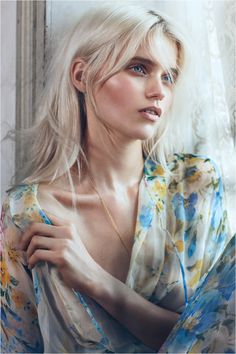 Bronze Makeup , Abbey Lee Kershaw by Lachlan Bailey for Vogue China May 2012