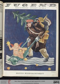 Jugend, German illustrated weekly magazine for art and life, Volume 30.2, 1925.