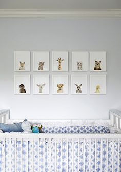 Baby Animal Prints from The Animal Print Shop | Cush and Nooks