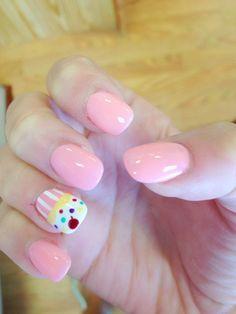 Cupcake nails :)