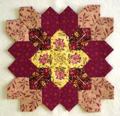 Little Quilts Blog: Patchwork of the Crosses - block 8
