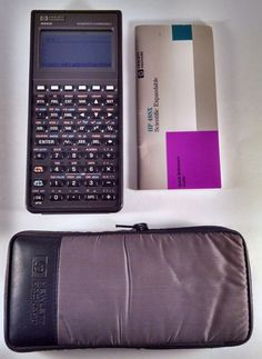 Great Condition Vintage Hewlett Packard HP48SX with HP Solve Equation Library  #HP
