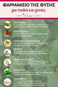 Φαρμακείο της φύσης - Pharmacy of nature - Pharmacy-of-nature Health Diet, Health And Wellness, Health And Beauty, Health Fitness, Healthy Mind And Body, Healthy Life, Healthy Living, Baby Food Recipes, Diet Recipes