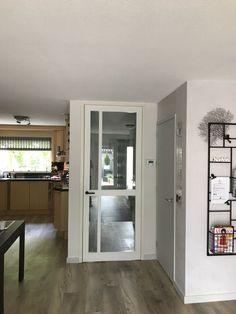 Wood Front Doors, Sliding Doors, Interior Door Styles, Modern Barn, Barn Door Hardware, New Homes, House, Windows, Google