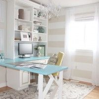 Sabrina's Bright, Cozy and a Dash of Glam Home Office