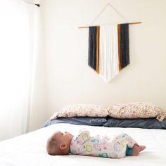 20 Easy DIY Yarn Art Wall Hanging Ideas: Child at Heart Blog