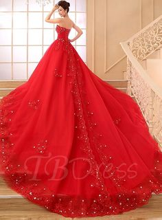 Cheap dress xxxxl, Buy Quality lace crepe directly from China lace underware Suppliers: 2016 New Red Color China Wedding Dress Red Sweetheart Chapel Train Beaded Lace Hot Sale vestidos de noiva Wedding Gowns Wedding Dress Train, Applique Wedding Dress, Wedding Dresses For Sale, Colored Wedding Dresses, Cheap Wedding Dress, Bridal Dresses, Wedding Gowns, Lace Wedding, Wedding Attire