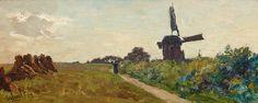 Windmill at Elspeet - Paul Gabriel, 1892 | Studio 2000