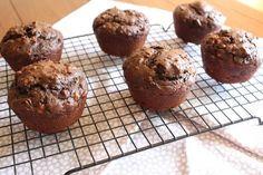 Double Chocolate Banana Muffins ~ Is #Yummy #recipe