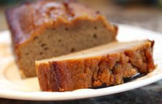 Paleo Pumpkin Bread--This was amazing!  Seriously.  One of the best dessert breads I've ever had!