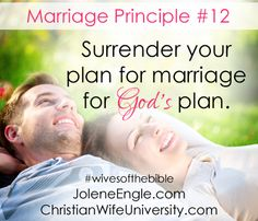 Marriage Principle #12 from the life of Leah-Wives of the Bible by Jolene Engle