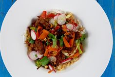 Crispy beef Thai style healthy oriental fresh food photography food styling inspiration quick