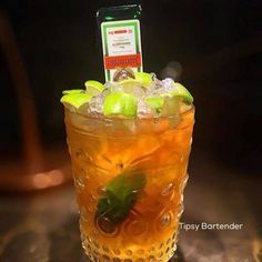 Scizophrenia Cocktail - For more delicious recipes and drinks, visit us here: www.tipsybartender.com