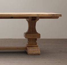 RHu0027s All Rectangular Tables:Restoration Hardwareu0027s Dining Tables Are  Beautifully Made And Eminently Bequeathable Furnishings That Will Last For  Generations.