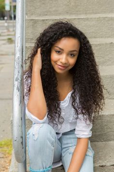 Genneya Walton as 'Bryden Bandweth' in Netflix's Project Mc² - Exclusive Interview Medium Hair Styles, Curly Hair Styles, Natural Hair Styles, Project Mc Square, Isaak Presley, Teenager Photography, Female Character Inspiration, Wattpad, Music For Kids