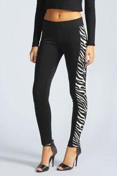 #Zebra #Leggings #Fashion #AnimalPrint #Animal