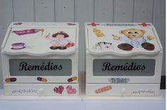 Farmacinha para menino e menina.