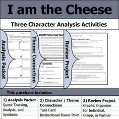 Freak the Mighty - Character Analysis Packet, Theme Connections, & Project Thirteen Reasons Why Characters, Life Of Pi Characters, Brave New World Characters, King Lear Characters, Oliver Twist Characters, The Crucible Character Analysis, Midsummer Night's Dream Characters, Pride And Prejudice Characters, Freak The Mighty