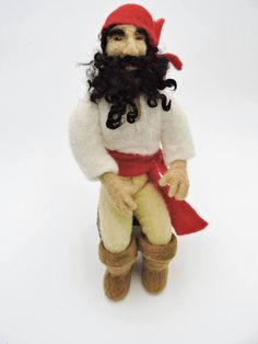 Hey, I found this really awesome Etsy listing at https://www.etsy.com/listing/275884524/needle-felted-pirate-shelf-sitter-felted