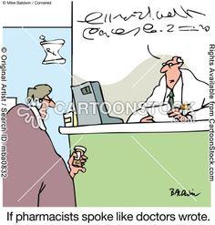 Si los farmacéuticos hablasen sin que se les entienda, ¿tendrían mas prestigio?