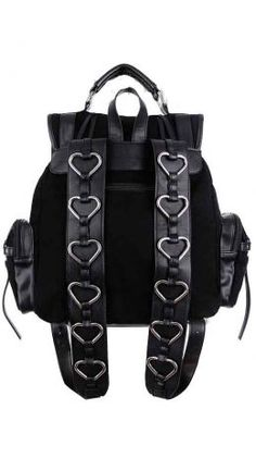 Restyle Heavy Heart Backpack
