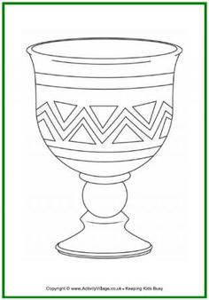 Kwanzaa Colouring Page - Unity Cup