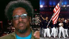 "Black CNN Host Upset ""White Man"" Michael Phelps Chosen to Carry American..."