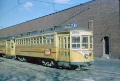 Public Service of New Jersey Trolley Car #8013 Jersey City