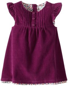Jojo Maman Bebe Baby-Girls Newborn Pretty Cord Dress, Plum, 0-3 Months. Our baby clothes are machine washable at 90 degree fahrenheit unless otherwise stated. Only sold and shipped in the USA and Canada.