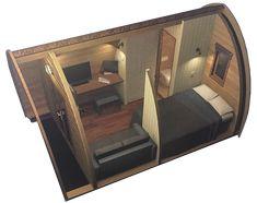 As casas de madeira da Geohouse fornecem a experiência glamping perfeita, combinando experiências incríveis ao ar livre com o conforto de um hotel de luxo.