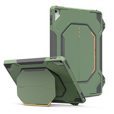 MoKo iPad Pro 9.7 Case - [Heavy Duty] Shockproof Full Body Rugged Hybrid Cover with Built-in Screen Protector for Apple iPad Pro 9.7 Inch 2016 Release Tablet, Army Green