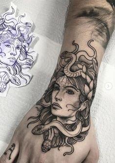 Medusa Tattoo Design, Tattoo Design Drawings, Tattoo Sketches, Tattoo Designs, Tattoo Ideas, Emo Tattoos, Body Art Tattoos, Sleeve Tattoos, Tatoos