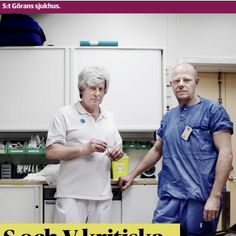 Posterboys for The Swedish Health care system.