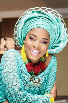 Nigerian Wedding Presents Bridal Styled Shoot Featuring Handmade Jewelries From The Artsmith Collections